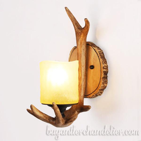 Antique Deer Antler Wall Light Sconces Bedside Lamp Buyantlerchandelier Com